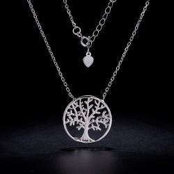 Braccialetto elastico con perle amazzonite e fiore di loto in argento