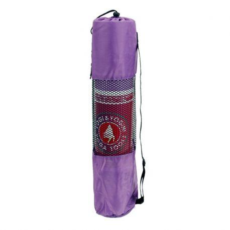 Borsa per tappetino yoga color viola