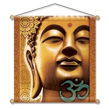Stendardo da meditazione con Buddha dorato