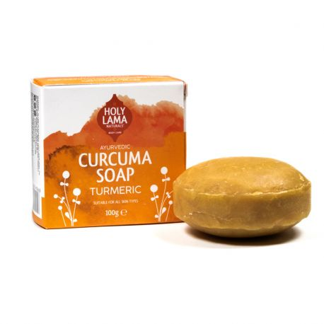 Holy Lama sapone naturale ayurvedico Curcuma